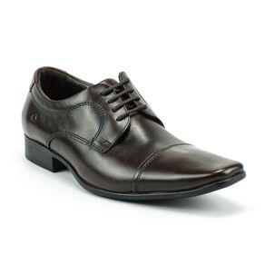 Sapato Social Democrata Masculino Marrom 40