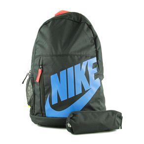 Mochila Nike Elemental Preto - Azul U1