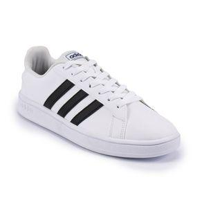 Tênis Adidas Grand Court Base Masculino Branco - Preto 38