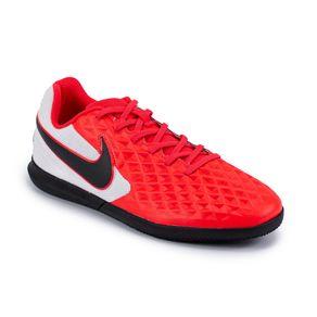 Chuteira Indoor Nike Legend 8 Preto-Branco 38