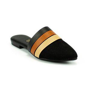 Sapato Mule Color Beira Rio Feminino Preto 34