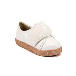 Tênis Molekinha Bebê Menina       Branco 18