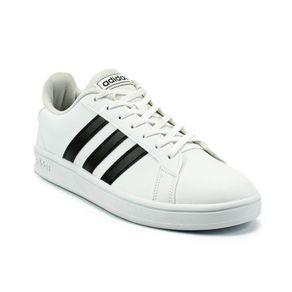 Tênis Adidas Grand Court Base Feminino Branco - Preto 37