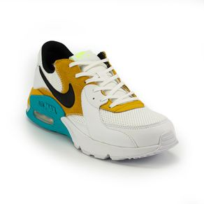 Tênis Nike Air Max Excee Masculino Branco - Azul 40