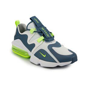 Tênis Nike Air Max Infinity Masculino Branco - Azul 39