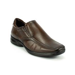 Sapato Social Jota Pe 3D Masculino  Marrom 38