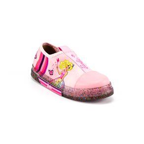 Tênis Grendene Kids Barbie Menina Rosa 25