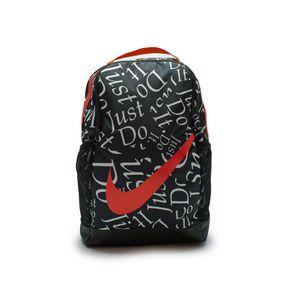 Mochila Nike Brasilia Preto - Vermelho U1