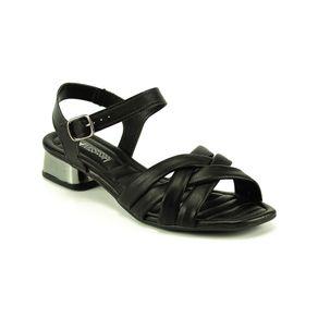 Sandália Salto Trançada Mississipi Feminina Preto 35