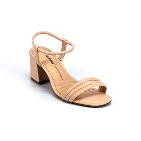 Sandália Salto Dakota Feminina Bege 35