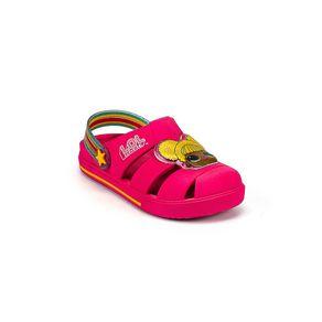Babuche Grendene Kids Lol Hype Menina Rosa - Amarelo 24