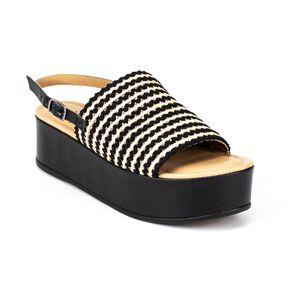 Sandália Plataforma Dakota Feminina Preto 35