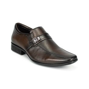 Sapato Social Jota Pe  Masculino Marrom 41